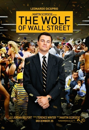 "poster ""The Wolf of Wall Street"""