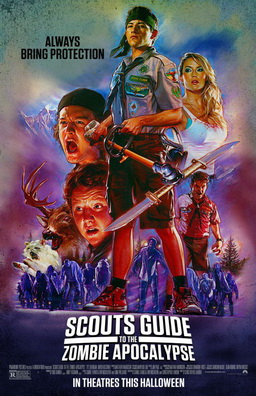 "poster ""Scouts Guide to the Zombie Apocalypse"""