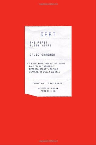 "coperta ""Debt: The First 5.000 Years"""