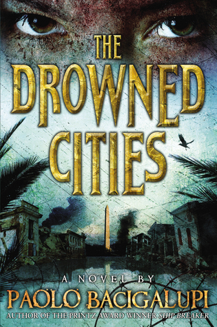 "coperta ""The Drowned Cities"""