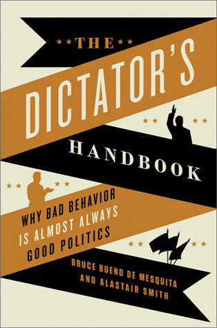 "coperta ""The Dictator's Handbook"""