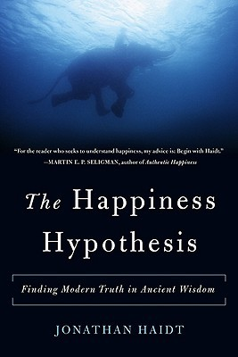 "coperta ""The Happiness Hypothesis"""