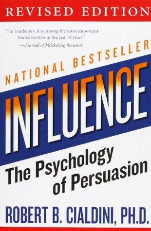 "coperta ""Influence: The Psychology of Persuasion"""
